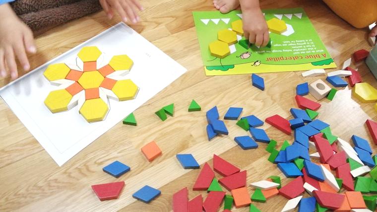 パターンブロック 知育玩具