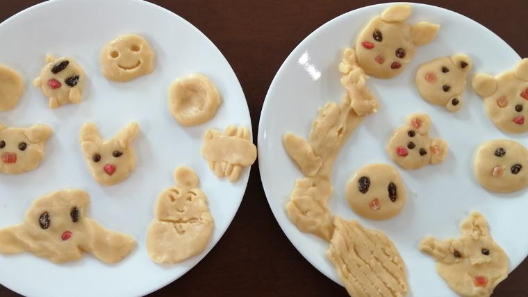 ノンタン絵本の世界再現クッキー子どもと台所育児