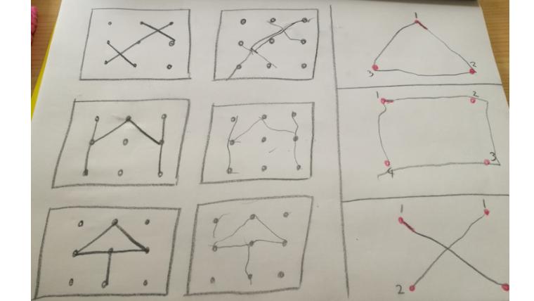 点つなぎ・点描写・点図形。子どもの「難しい」「苦手」をなくす方法
