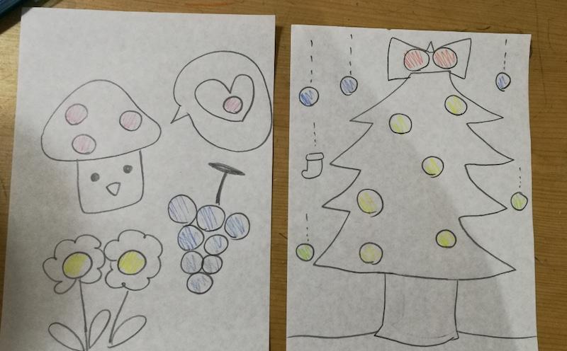 【手作り知育教材の知育玩具編】1歳、2歳の子供におすすめシール貼りのお仕事♪モンテッソーリ