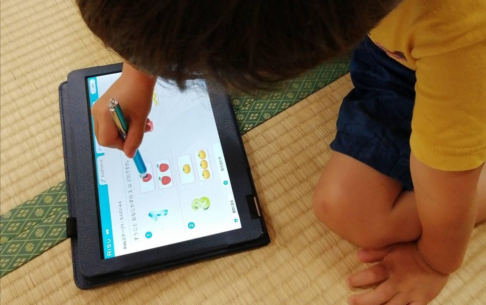 幼児のタブレット学習RISUきっずの魅力おすすめポイント
