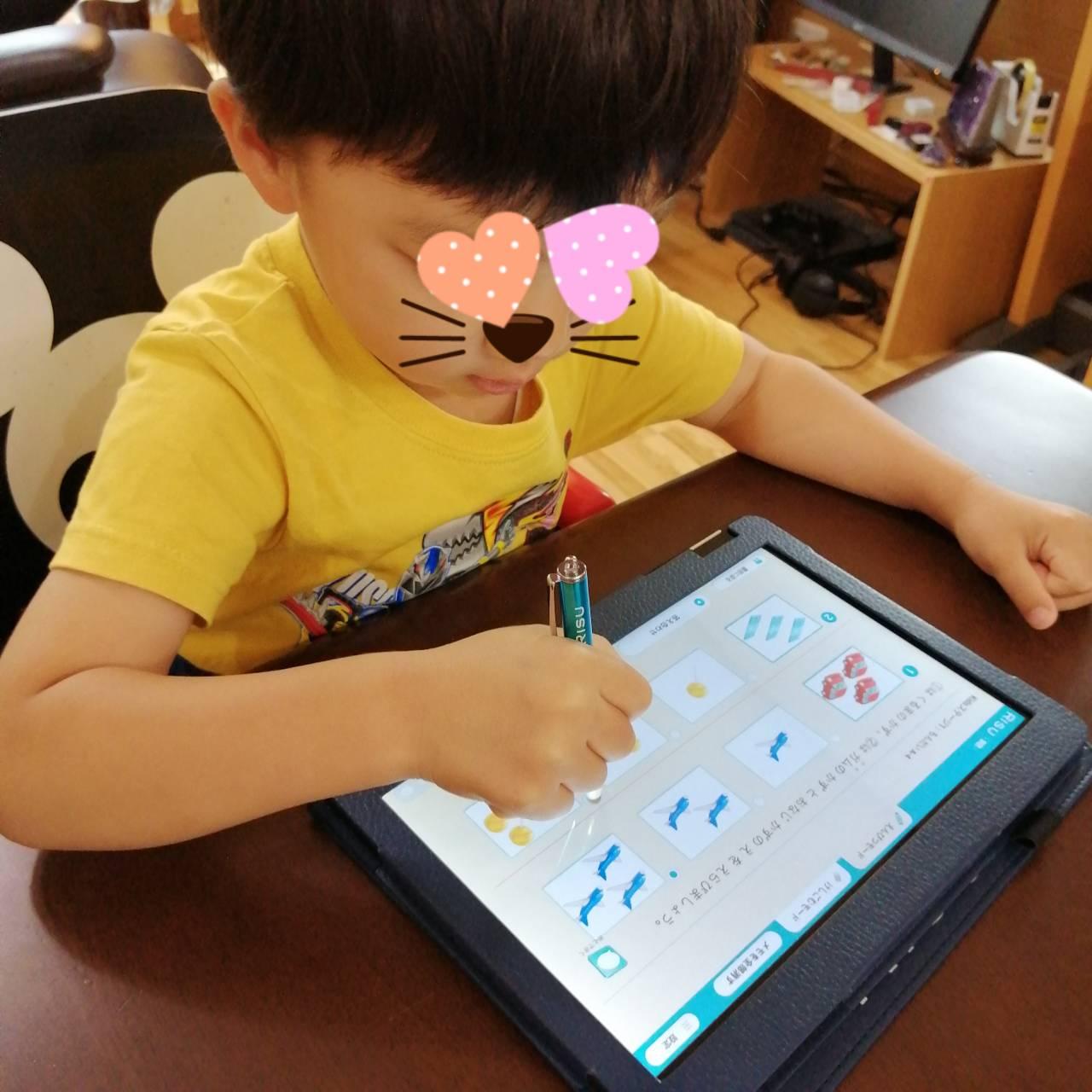 幼児のタブレット学習と言えばRISUきっず!4歳の感想と使用感