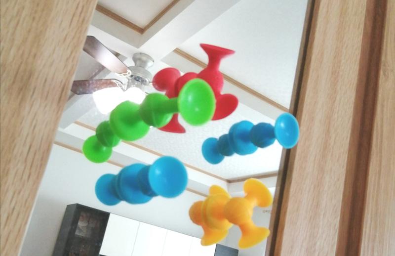 お風呂で使える知育アイテム知育玩具のピタリコ